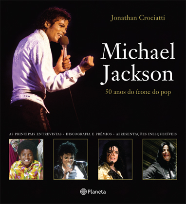 Capa do Livro Michael Jackson